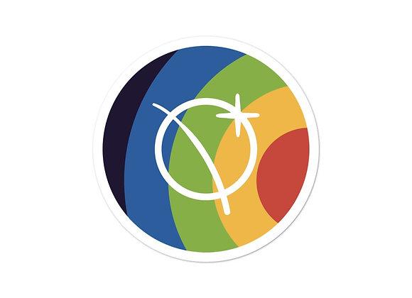 YWF Rainbow Sticker