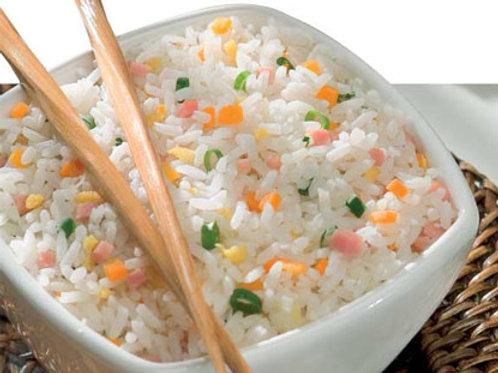 Yakimeshi de arroz integral