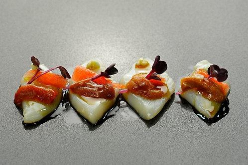 Sashimi anguila