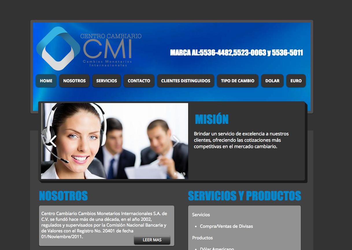 CMI Centro cambiario
