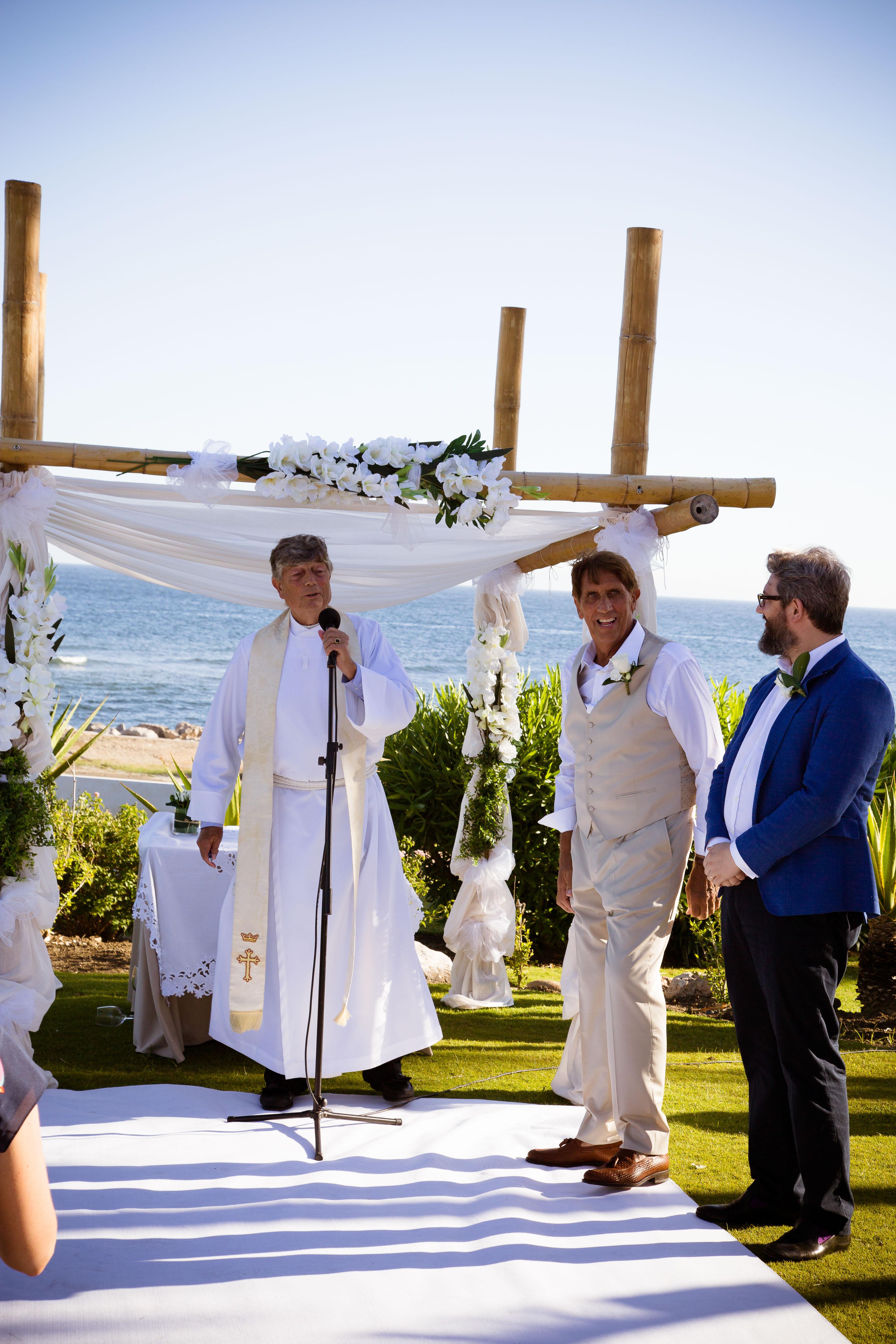 Tikitano beach wedding venue