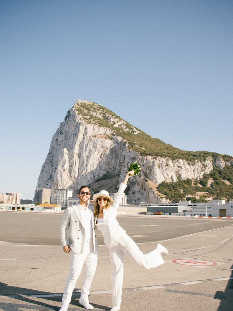 Gibraltar Elopement Wedding