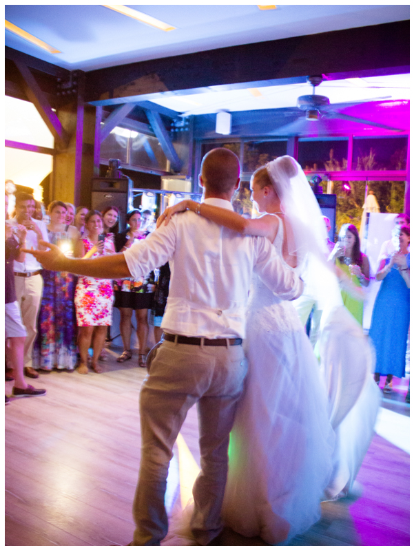 first dance salduna beach wedding
