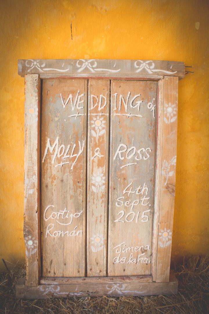 Vintage country wedding in Andalucia