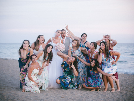 Marbella Beach Club Wedding Photography