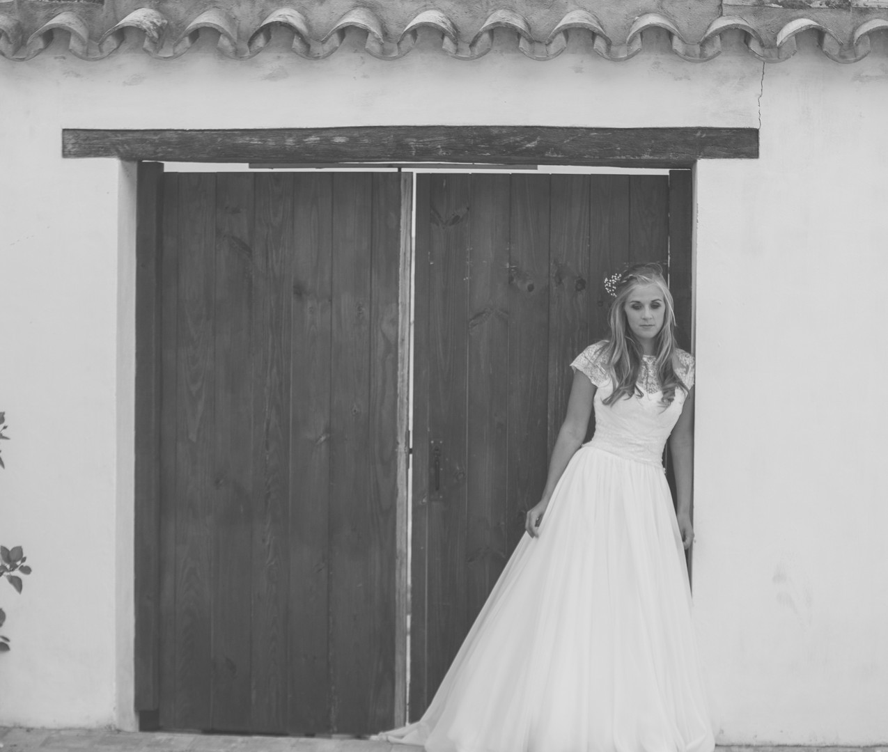 Spanish vintage country wedding