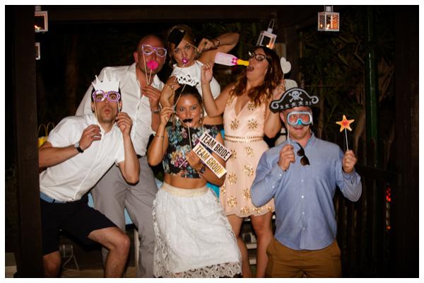 fun Photo Booth wedding photography