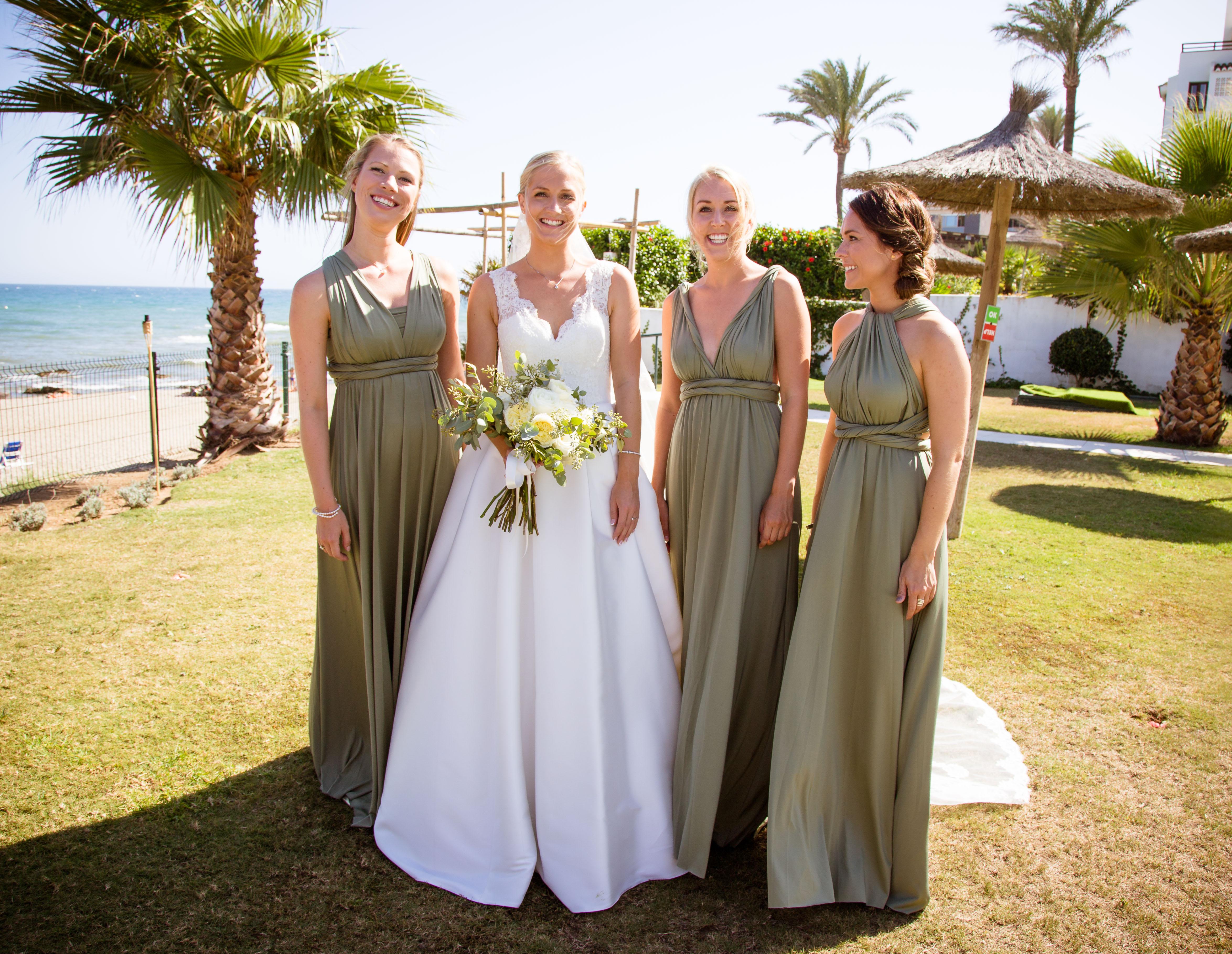 Beach wedding marbella