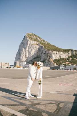 Gibraltar wedding