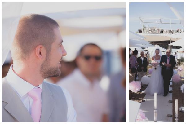 salduna beach wedding groom