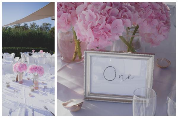elegant table wedding settings