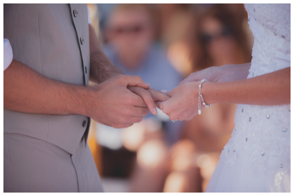 salduna beach wedding rings