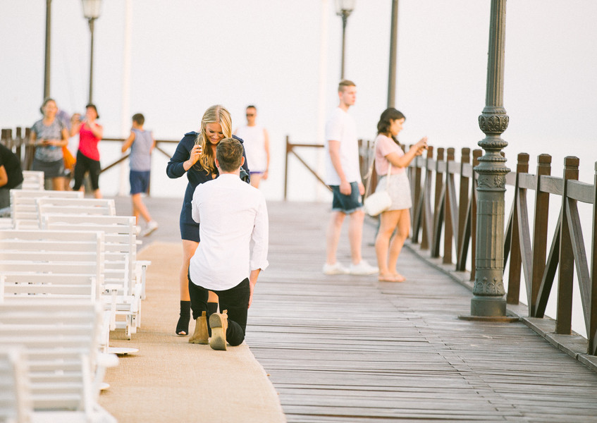 Engagement marbella club hotel photographer
