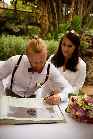 Romantic wedding Gibraltar