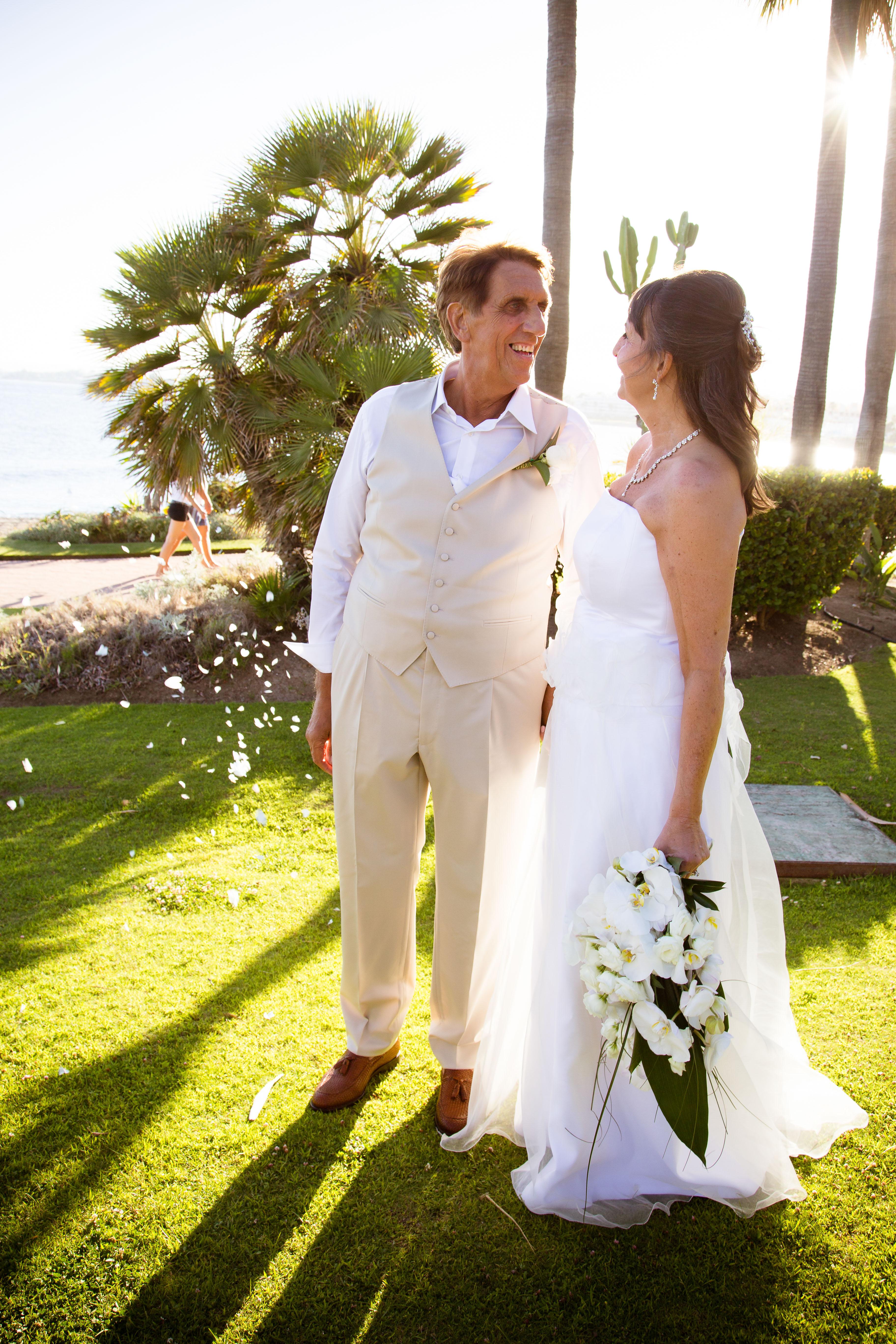 sunset wedding marbella