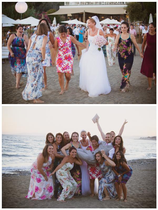 salduna beach wedding