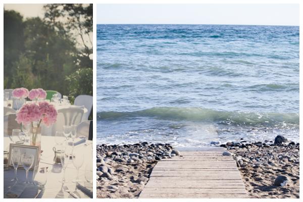 Saldana beach wedding