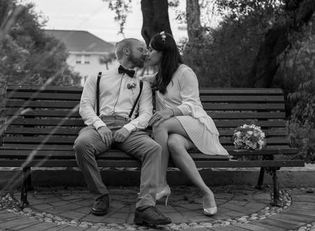 Romantic Elopement Wedding Gibraltar
