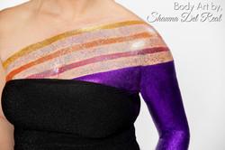 Body glitter class by shawna del real