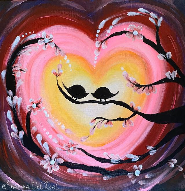 lovebirds paint n sip