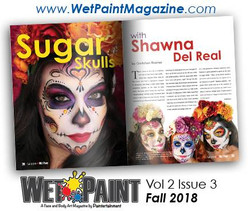 wet paint magazine interview with shawna