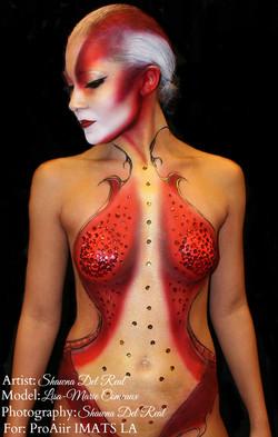 imats body painting