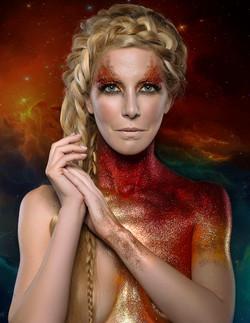 Glitter Body Art