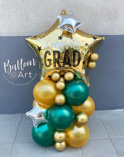 poly high school graduation balloons