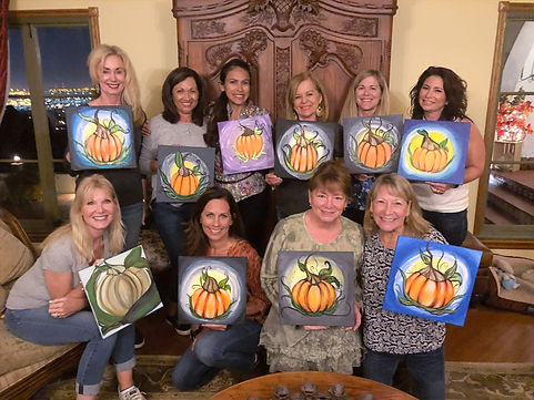 paint and sip party in palos verdes