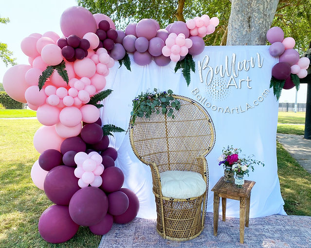 pink and purple baby shower balloons in long beach.jpg