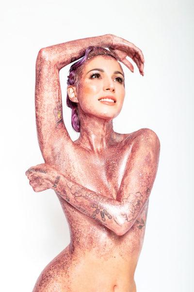 glitter body makeup