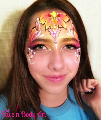 one stroke fairy face painting