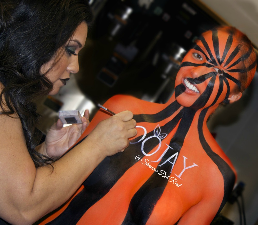 oojay body painting by shawna del real