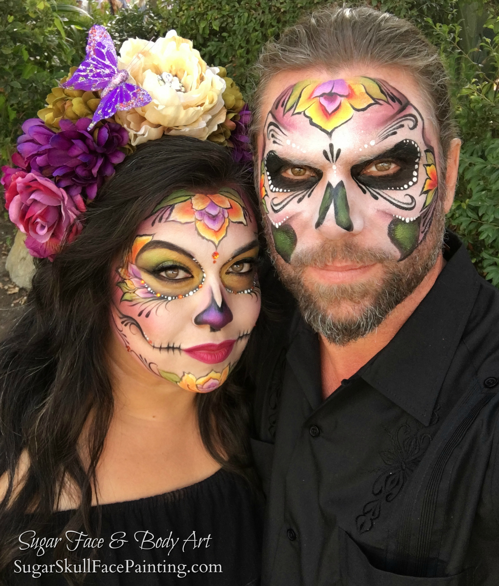 Sugar Skull couples design