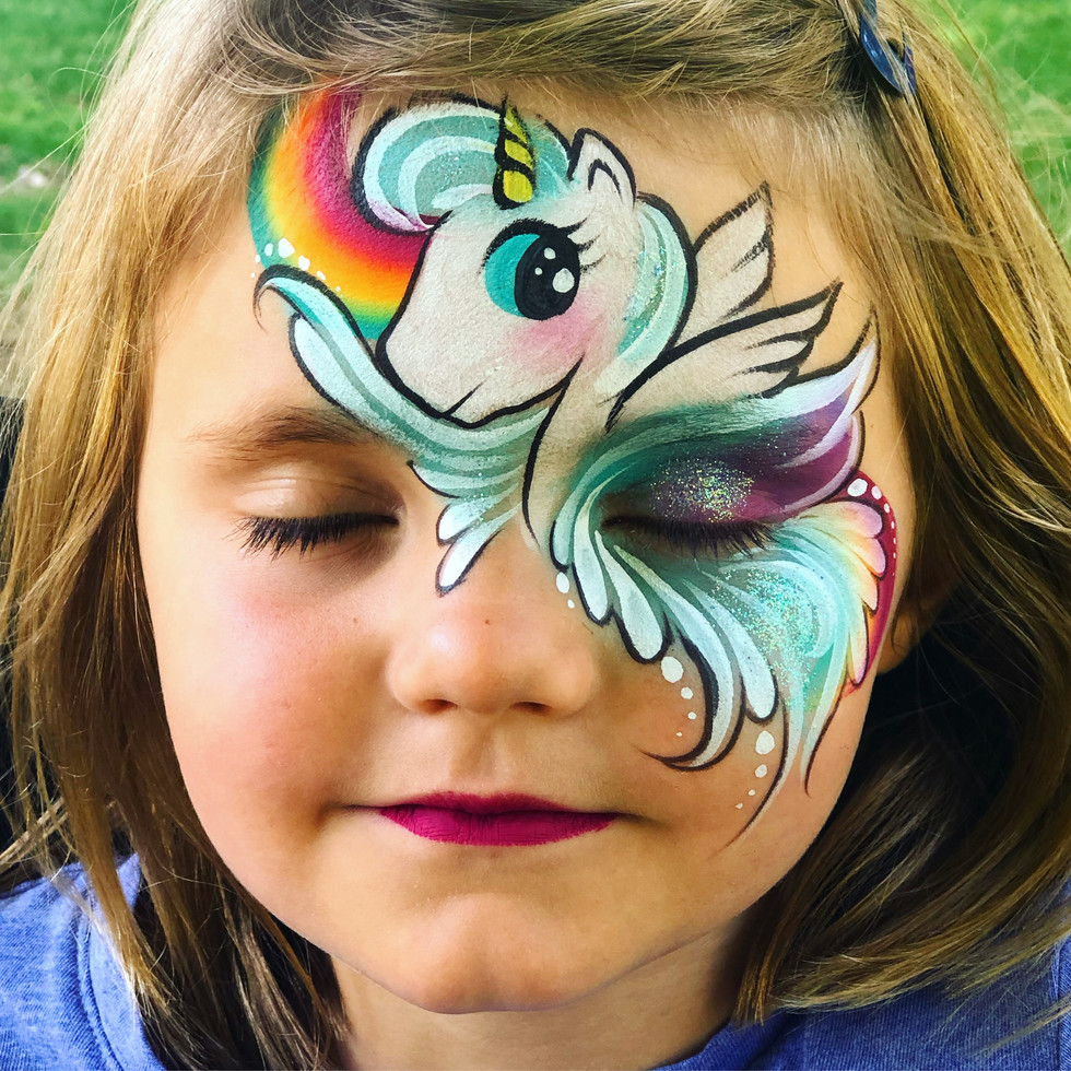 rainbow unicorn face painting .JPG
