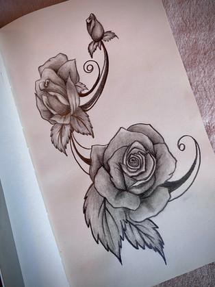 trio of roses pencil sketch.JPG