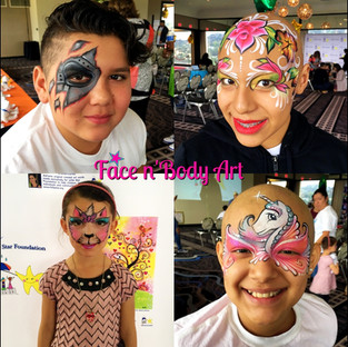 little star foundation face paintings.jp