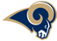 Rams face painters