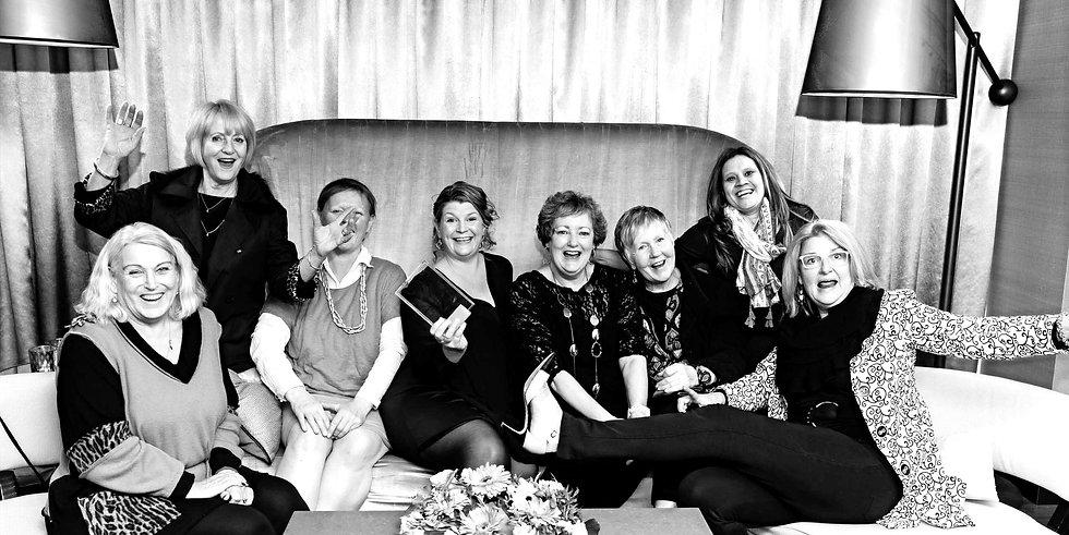 Women, friends having fun