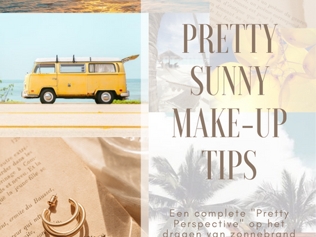 Pretty Sunny Make-up Tips