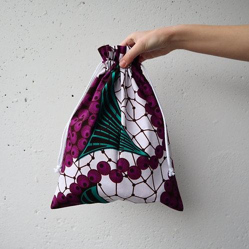 The Drawstring Bag - PURPLE
