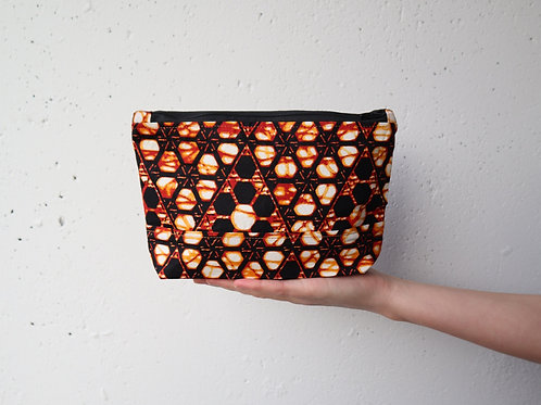 The Tugende Pouch - BROWN/ORANGE