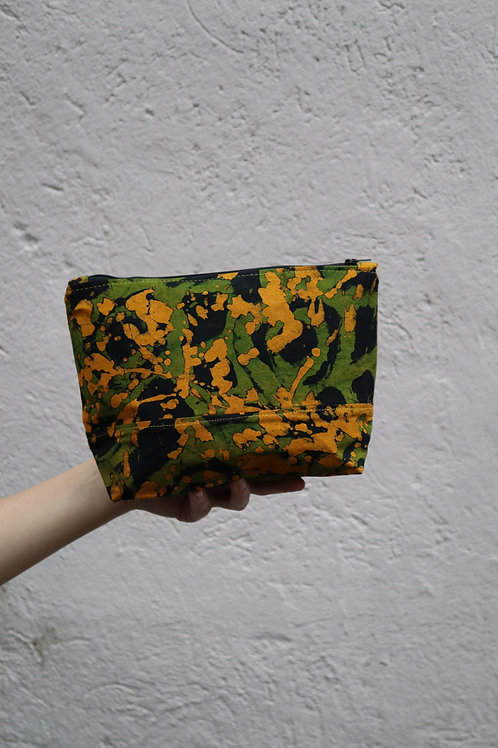 The Tugende Pouch - GREEN/YELLOW