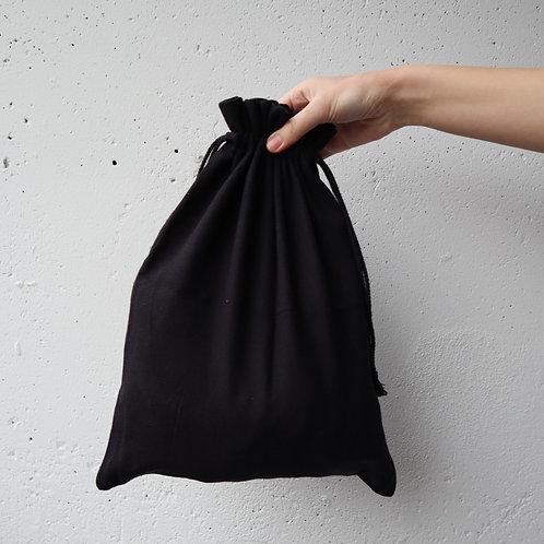 The Drawstring Bag - BLACK