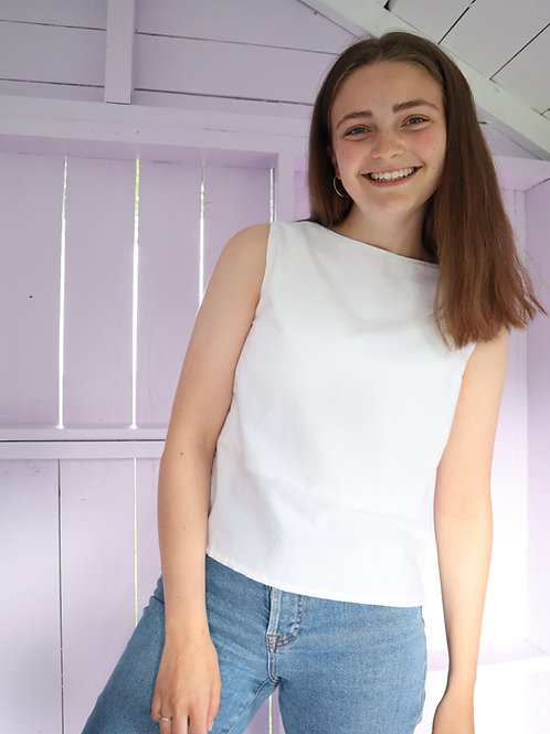The Fit for Anything Top - WHITE