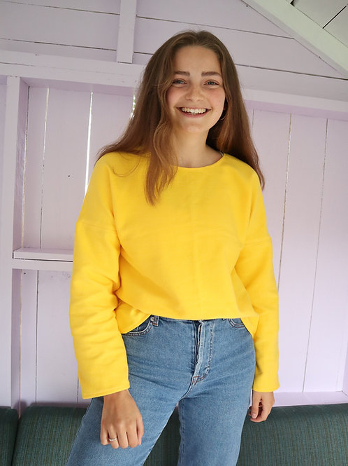 The Simple Cotton Sweater - SOLGUL