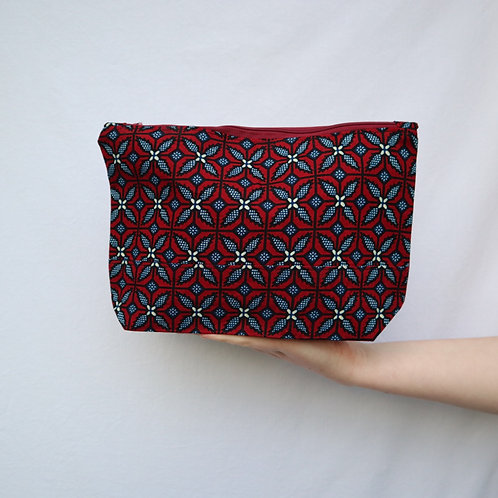 The Tugende Pouch - RED/BLUE