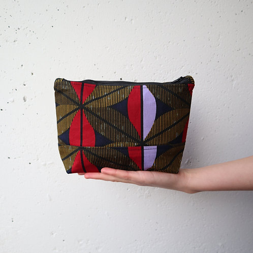 The Tugende Pouch - RED/PURPLE
