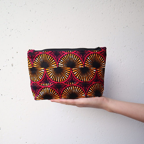 The Tugende Pouch -PINK/ORANGE
