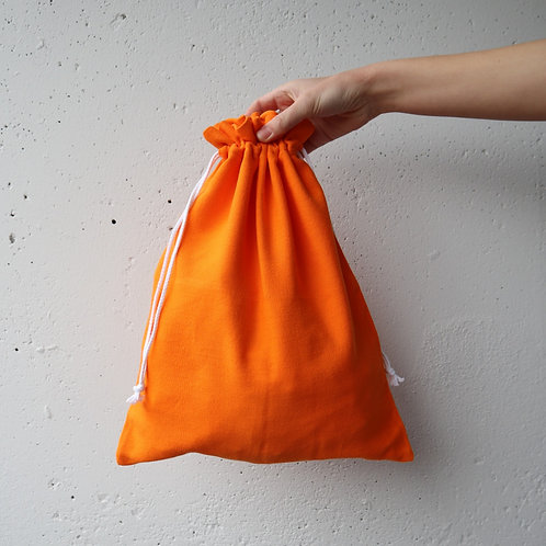 The Drawstring Bag - ORANGE